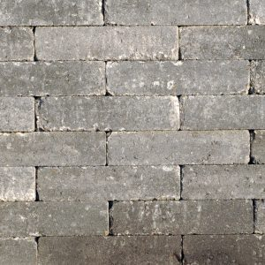 Abbeystones 20x5x7 Grijs/Zwart