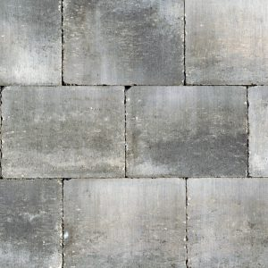 Abbeystones 20x30x6 Grijs/Zwart