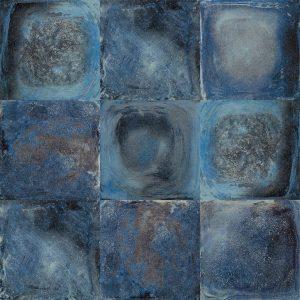 Noviton 60x60x4 BetonArt Blue