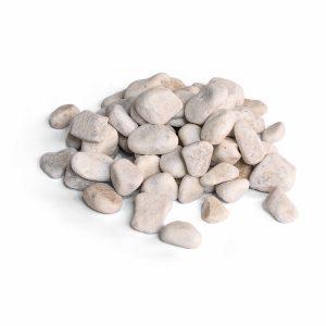 Carrara rond (25 kg.) wit 25-40mm