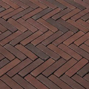 Terra Novara Antica 20,4x5x6,7 Rood-bruin bont bezand