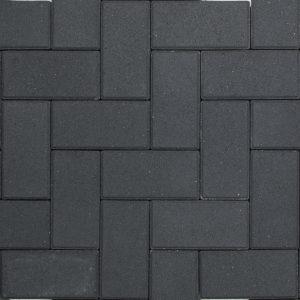 BSS 21×10,5×8 KOMO Zwart met deklaag 36st/lg