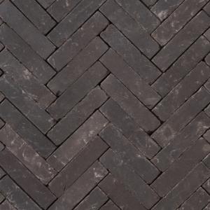 Gebakken UWF Ares getrommeld SP (zwart bezand) 20x5x6,5