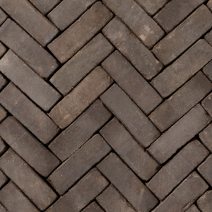 Gebakken DF Incana WS getrommeld VB (bruin zwart onbezand) 20×6,4×8,5