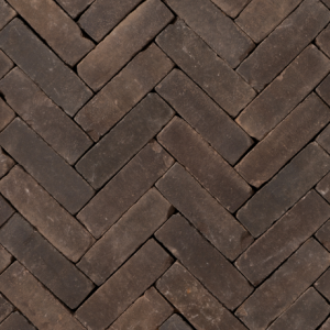 Gebakken UDF Nostalgie WS getrommeld VB (zwart bruin onbezand) 20×6,5×6,5