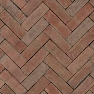 Gebakken UDF Novoton getrommeld VB (bruin rood bezand) 20×6,5×6,5