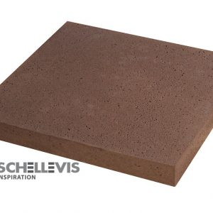 Oud Hollandse tegel Rood / Bruin 60x60x5cm