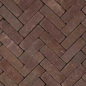 Gebakken DF Violetta getrommeld VB (purper bezand) 20×6,4×8,5