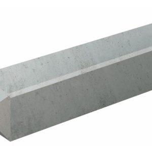 Betonpaal met Diamantkop Grijs 10x10x280