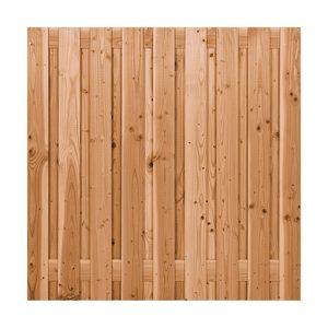 Scherm Douglas geschaafd 19 planks 180×180