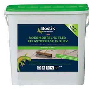 Bostik Voegmortel 1C FLEX Basalt 15 kg.