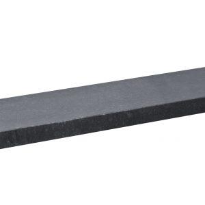 Vijverrand Nero Eleganto Honed (1 zijde gevlamd en geborsteld, 5 zijde gezoet) 100x20x3
