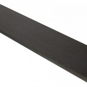 Vijverrand 100x15x3 cm Black (6 zijdes verzoet, 8 facetranden)