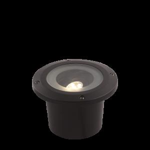Verlichting Amber 5W Aluminium – Zwart