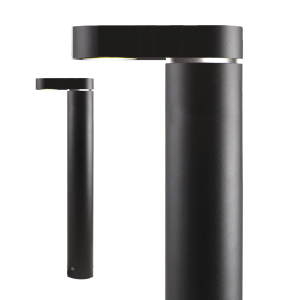 Verlichting Barite DL 3W Aluminium – Zwart