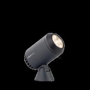 Verlichting Castor 4 3,5W Dimbaar Aluminium – Antraciet
