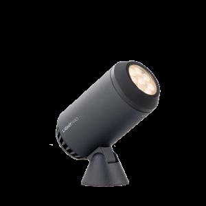Verlichting Castor 8 8W Dimbaar Aluminium – Antraciet