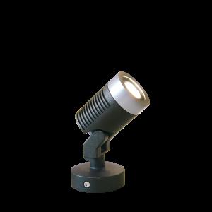 Verlichting Emarald 3 3W Aluminium – Zwart (uitlopend)