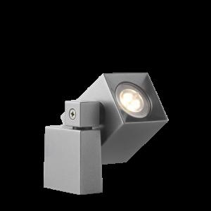 Verlichting Quartz 2W Aluminium – Antraciet