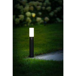 Verlichting Oberon Lo Aluminium – Zwart