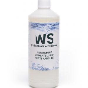 Fles WS Kalkuitbloeiverwijderaar 1 liter