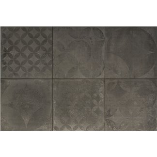 Keramiek TRE 60x60x3 Concrete Decor Graphite