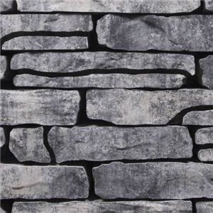 Stonewalling 18x42x8 Grijs / zwart