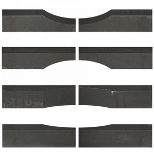 Linia Excellence Wave 15x15x60 Nero