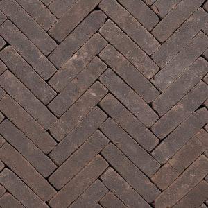 Gebakken UWF Preston getrommeld VB (bruin zwart bezand) 20x5x6,5
