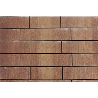 Rock Walling leisteen Marrone (1x 31,5 1x 41,5 en 1x 51,5cm)