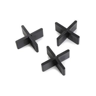 Voegkruis zwart 2 mm 2x10x40 mm (per zak 100 stuks)